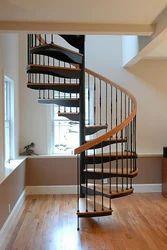 Modular Spiral Staircase