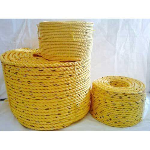 Yellow Yellow Plastic Rope, Usage: Industrial, Rescue Operation