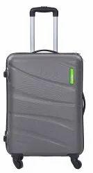 Grey Polycarbonate Safari Suitcase 55cms For Travel