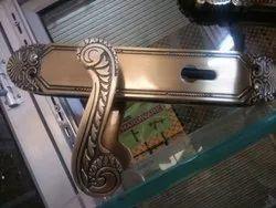 Brass Door Handle Lock