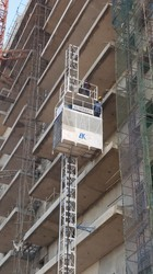 Passenger Lift for Building construction