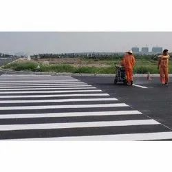 Center Line Thermoplastic Road Marking Painting Services