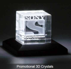 Promotional 3D Crystals