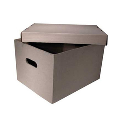Brown Storage Boxes, Rectangle