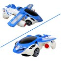 Multicolor Flying Car 360 Degree Rotation Car To Auto Plane Transform