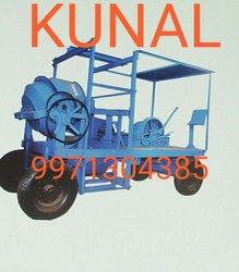 Four Pillar Concrete Mixer Machine