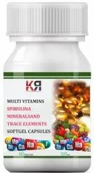 Multivitamin Softgel Capsule