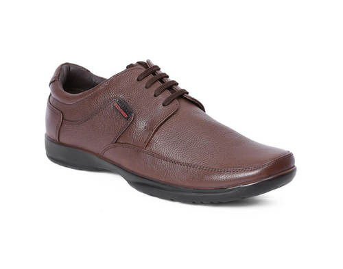 6a3660c71dc2dd Genuine Leather Brown Derby Formal Shoes For Men, Rs 2595 /pair   ID ...