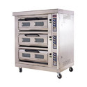 3 Deck Oven with Steam and Digital Control