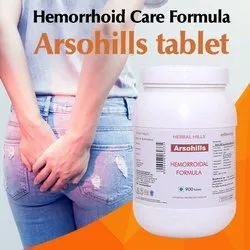 Herbal Hills Ayurvedic Medicine for Piles - Hemorrhoid Care Formula Arsohills, Packaging Size: 26x11x11