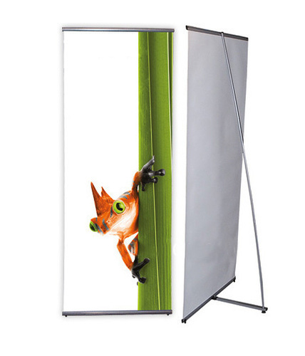 General Info The 3 X 6 Basic Fabric Frame Is Only Slightly Smaller Than Our Most Por Retractable Banner Stands But Still Makes A Impact