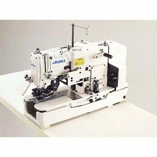 Juki Automatic Buttonhole Sewing Machine Rs 40 Piece Om Sai Amazing Automatic Buttonhole Sewing Machine
