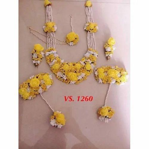 Designer Flower Jewellery