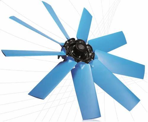 Axial Fan Blades Cooling Fan Blade पंखे की ब्लेड
