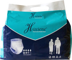 White Hixiene Adult Pull Ups