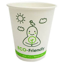 Sunny White Eco Friendly Paper Cups And Glasses, For Parties, Capacity: 100 ML