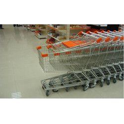 Zinc Coated Shopping Trolley