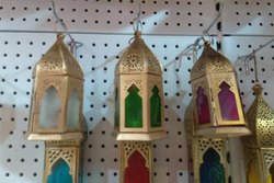 Small Moroccan Candle Lanterns
