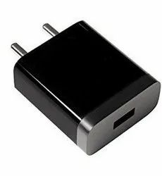White And Black Raydium's Polaris 2.4 Amp Single USB Wall Mobile Charger