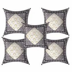 Cotton Printed Cushion Cover, Size: 16x16 Inch