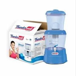 White Top Loading Thunderwell RO Drinking Mineral Water Purifier, Capacity: 16 Liters