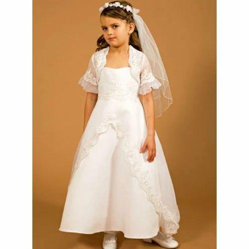347e801a5cc89b White Party Wear First Communion Dress, Rs 10000 /piece, S.B. ...
