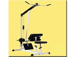 Lat Row and Arm Machine (Free Weight Fitness Equipment)