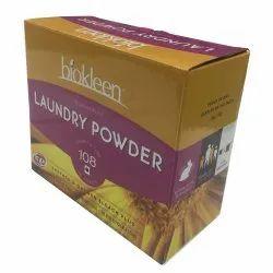 Printed Laundry Powder Packaging Box