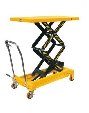 Manually Mobile Scissor Lift