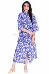 Cotton Long Size Kimono Bath Robe