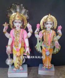 Marble Laxmi Vishnu Ji
