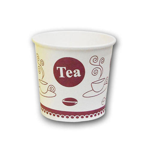 white paper disposable tea cup rs 27 packet shree sai industries