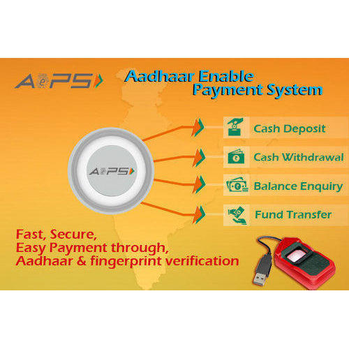 Application Aadhaar Enabled Payment Software, For Business, Data Entry Mode: Manually