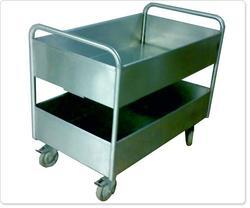 Used Plate Collection Trolley