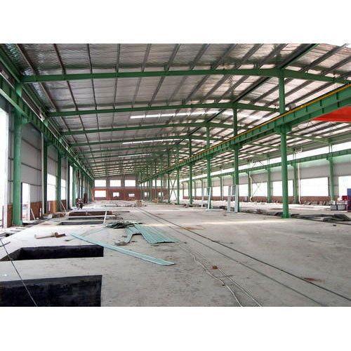 Prefabricated Godown Steel Shed
