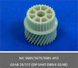 Gear 29/31 T(DP Unit Drive Gear) WC 5665 / 5675 / 5685 -013