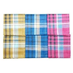 Pure Cotton Men Handkerchief