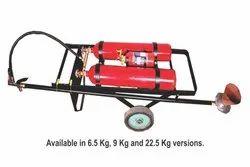SafePro Twin Trolley Fire Extinguishers