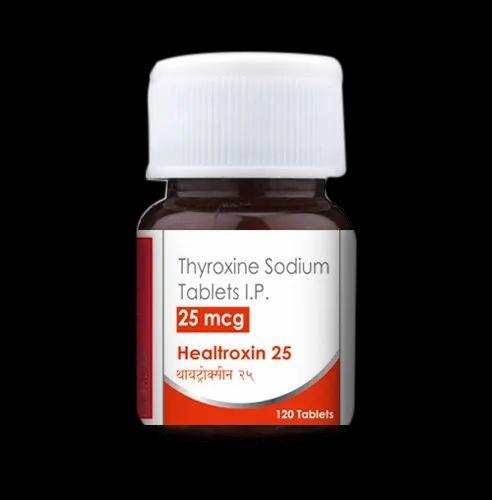 Anti Thyroid Healtroxin 25mcg Thyroxine Manufacturer From Mumbai
