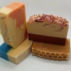 Milk Rectangular Make Organic Handmade Soaps