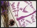 Printed White Eco Friendly Cotton Tea Towel, Size: 45x65 Cm