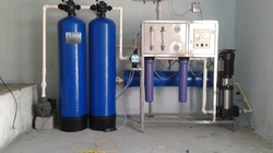 FRP Excel Filtration 1000 LPH Industrial RO Plant