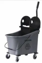 Single Bucket Moping Wringer Trolley