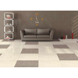 SJTC Ceramic Double Charge Vitrified Floor Tiles, 5-10 mm