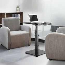 Single Pedestal Electric Sit-Stand Conference Desk