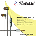 Reliable F-021 Handsfree D7