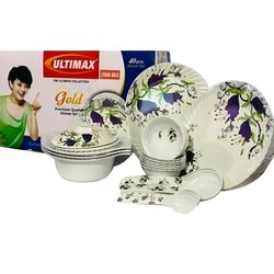 Ultimax Leher Gold Dinner Set