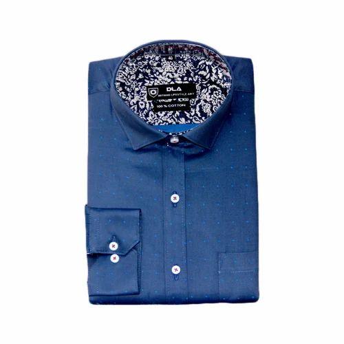 8c842d29ae Cotton/Linen Mens Formal Plain Navy Blue Shirts, Rs 350 /piece | ID ...