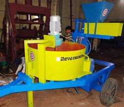 Movable Interlocking Brick Machine