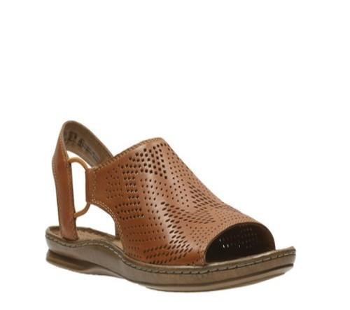 Ladies Clarks Sarla Cadence Black Or Red Nubuck Or White Leather Casual Sandals